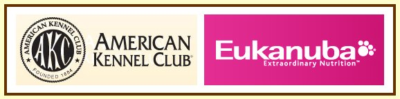 Circle B Ranch is proud to be associated with the American Kennel Club and Eukanuba.
